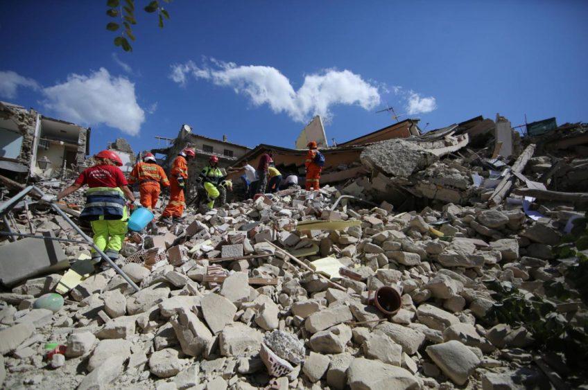 Terremoto in centro Italia, i toreggiani in aiuto delle vittime