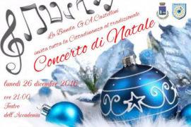 Torna il consueto appuntamento musicale natalizio