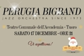 Merry Swingin' Christmas, il Concerto di Natale della Perugia Big Band