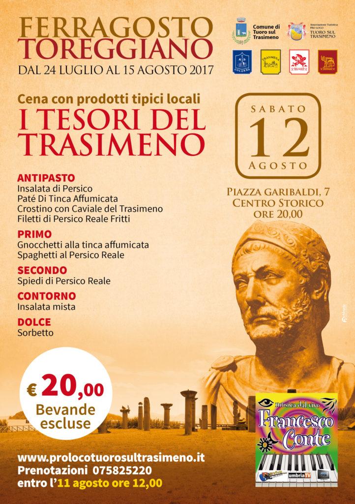 "Locandina ""I Tesori del Trasimeno"""