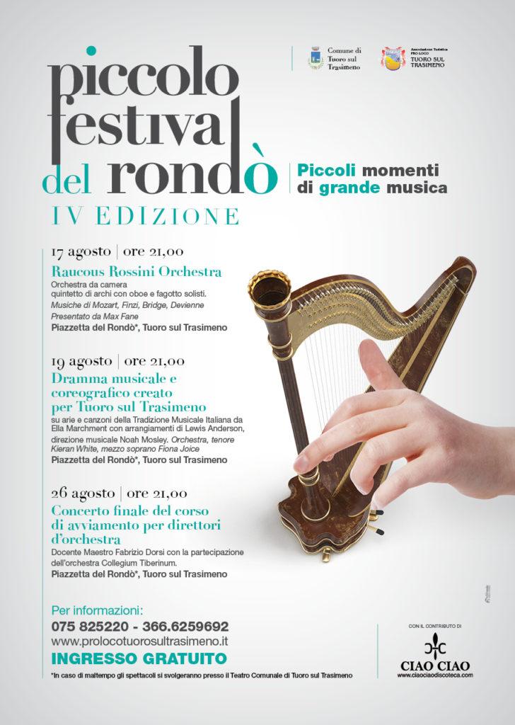 """Locandina del """"Piccolo Festival del Rondò"""""""