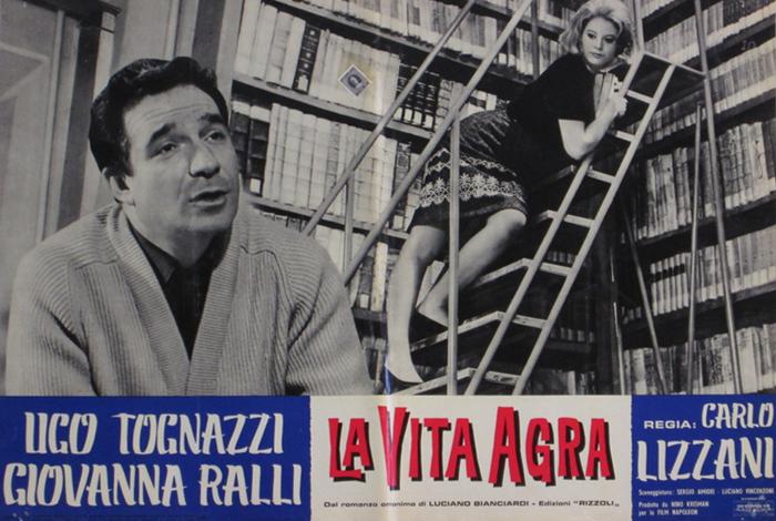 Ugo Tognazzi e Giovanna Ralli