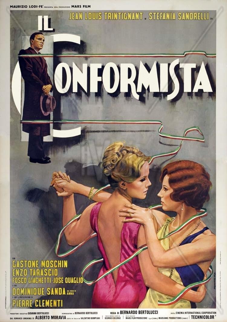 """""""Il conformista"""", locandina"""