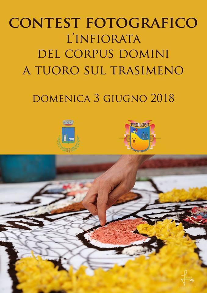 Infiorata Corpus Domini 2018, Tuoro sul Trasimeno, locandina