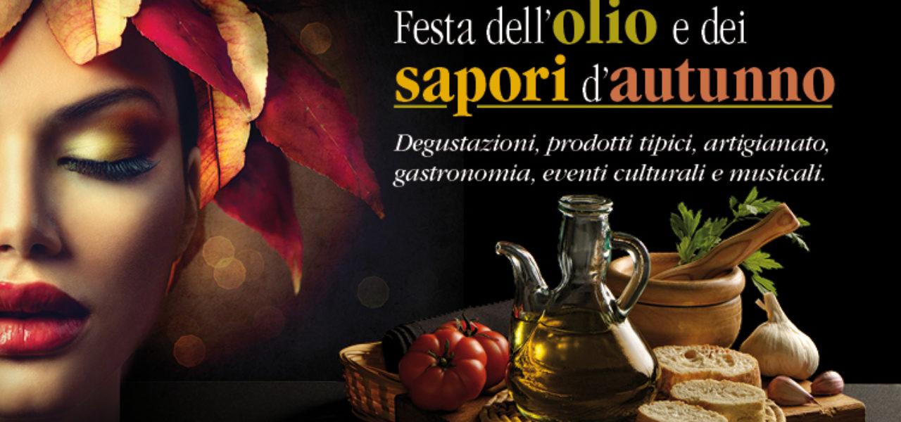 Torna la Festa dell'Olio e dei Sapori d'Autunno