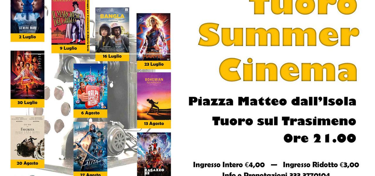 Parte la stagione del Tuoro Summer Cinema