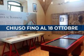 Museo di Annibale chiuso fino al 18 ottobre